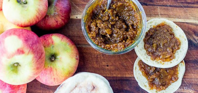 Slow Cooker Chai Apple Butter