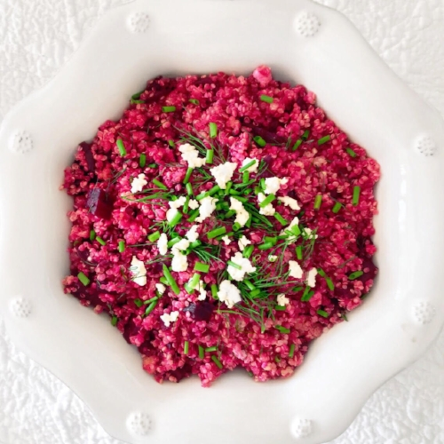 Beet and Quinoa Salad