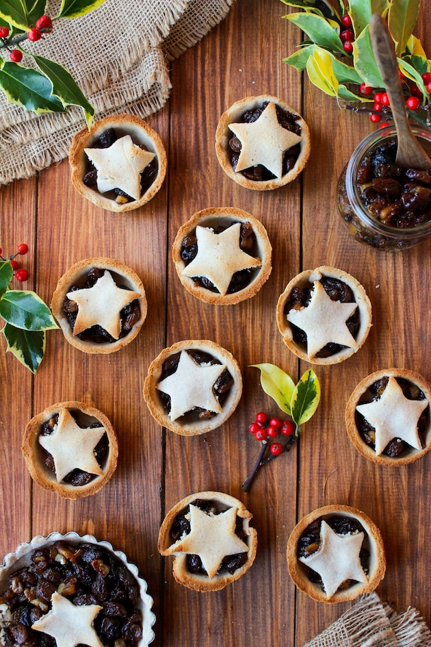 Mince Pies with a Gingerbread Crust