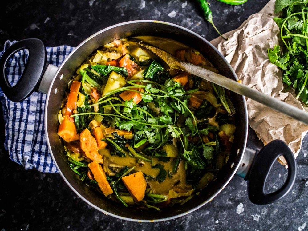 Dartmouth, Potato And Coconut Curry