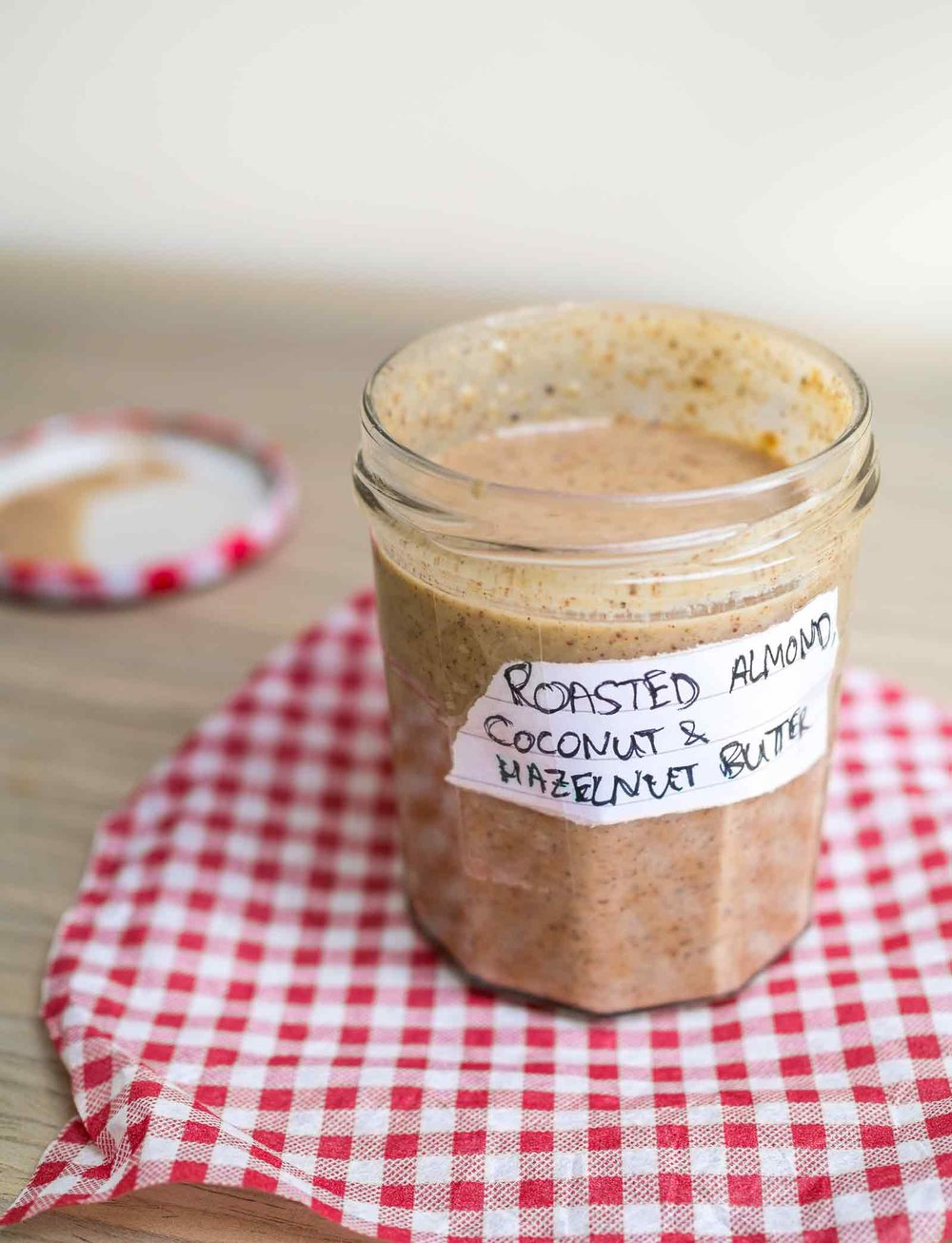 Roasted Almond, Coconut And Hazelnut Butter