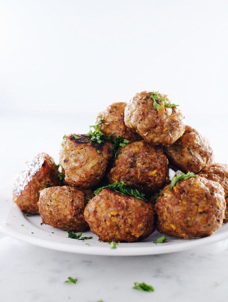 Butternut Breakfast Meatballs