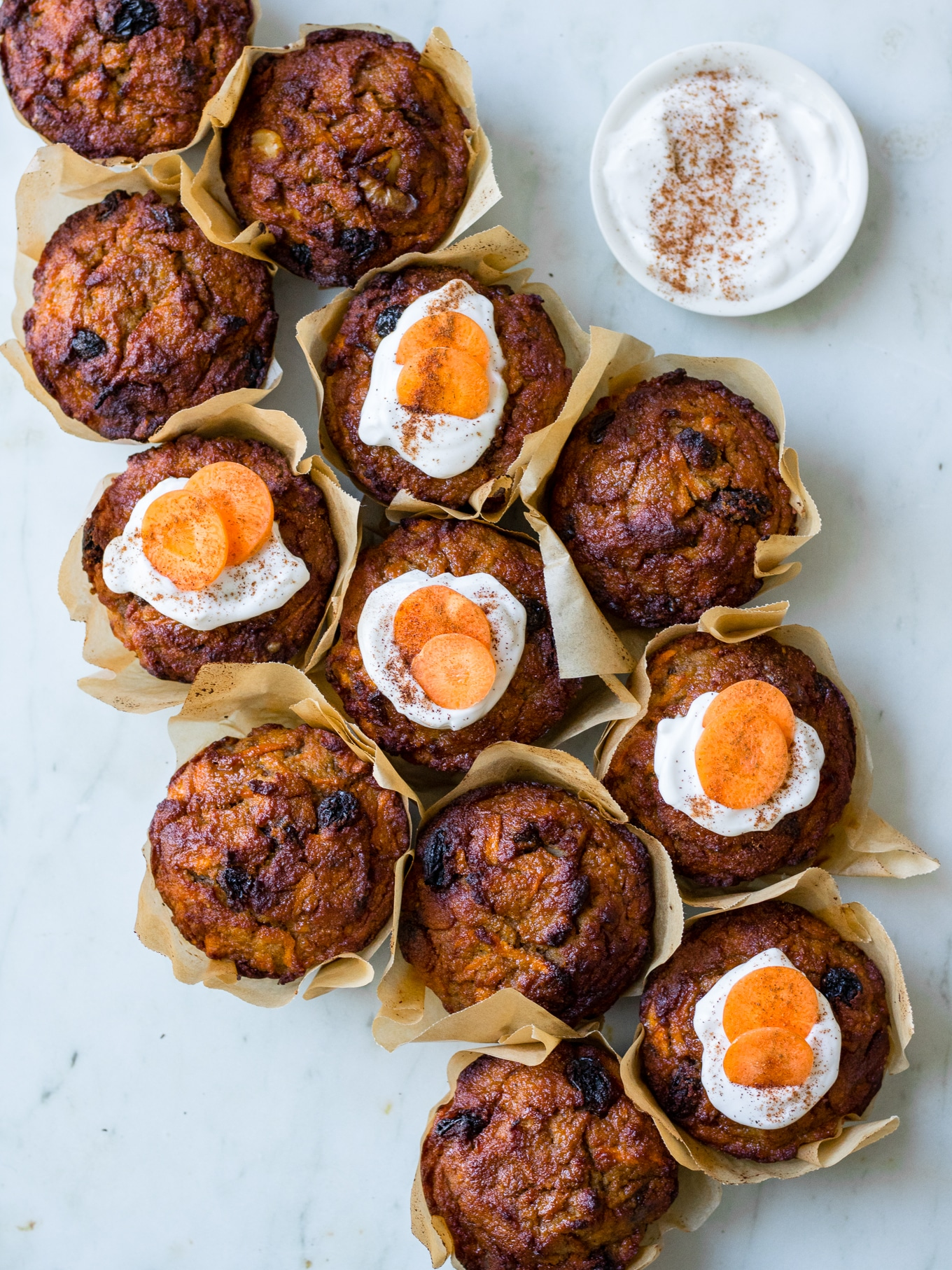 Healthy Carrot Cake Muffins A 3