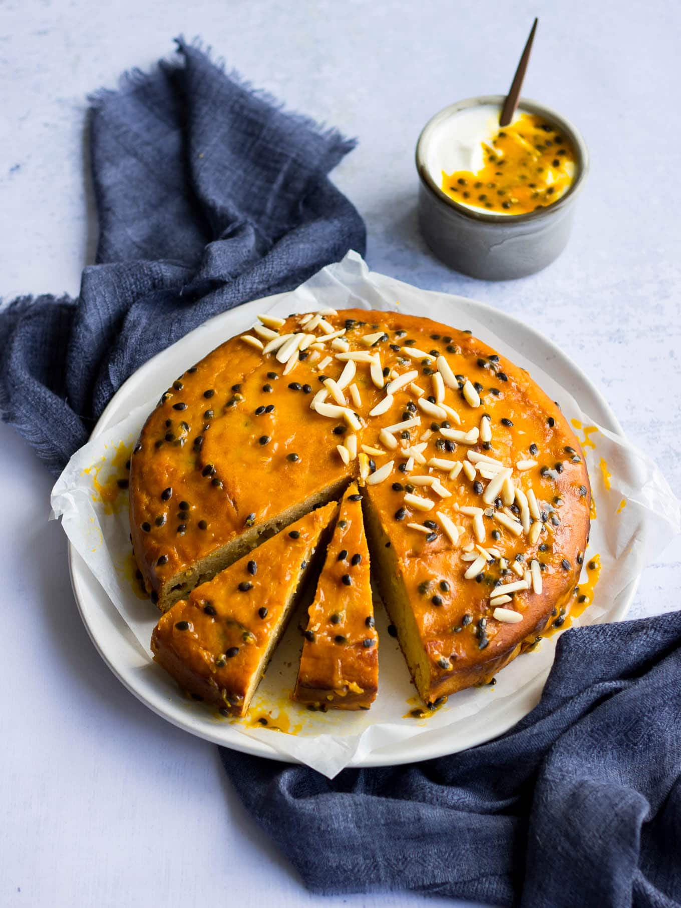 Passionfruit Yoghurt Cake A 4