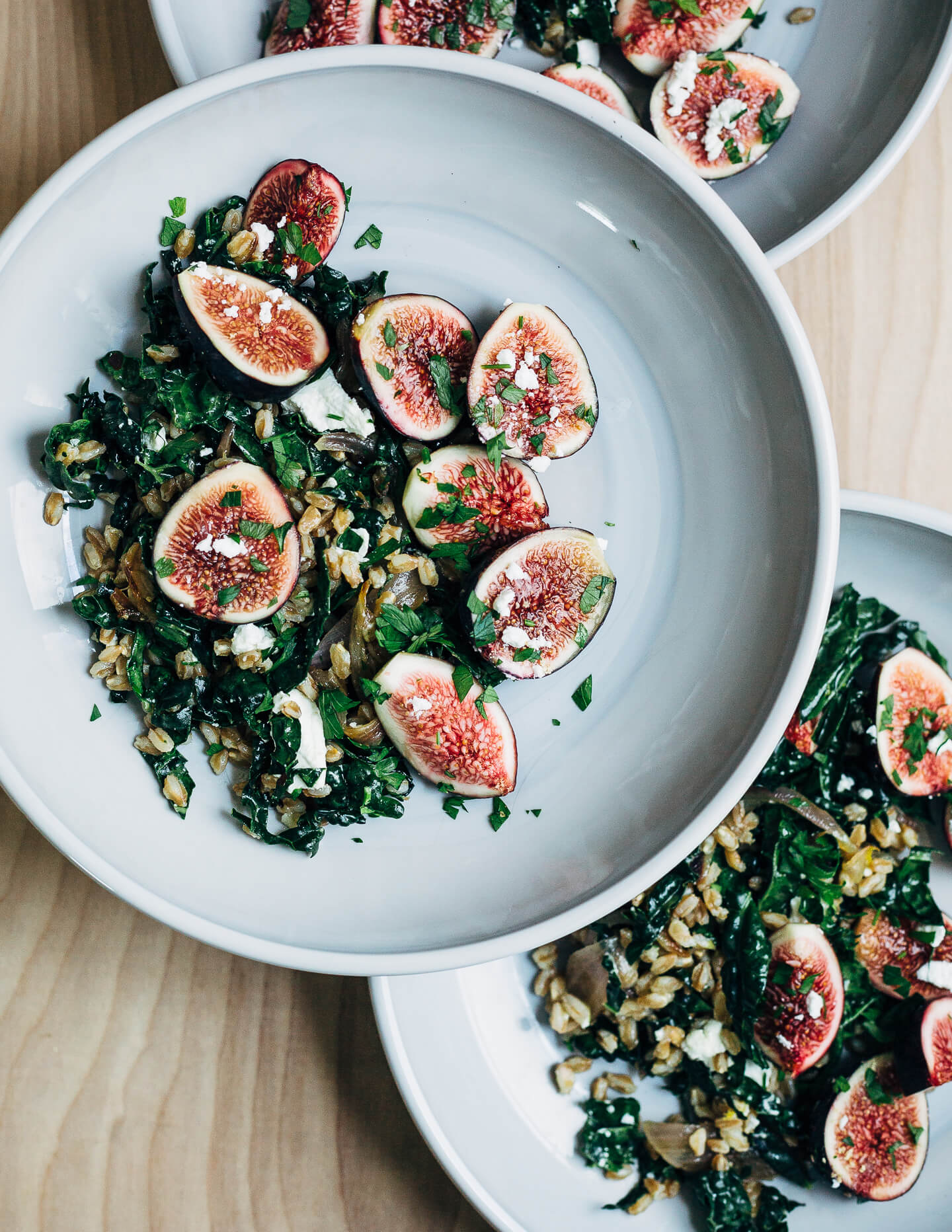 Farro Salad With Kale And Figs44 1