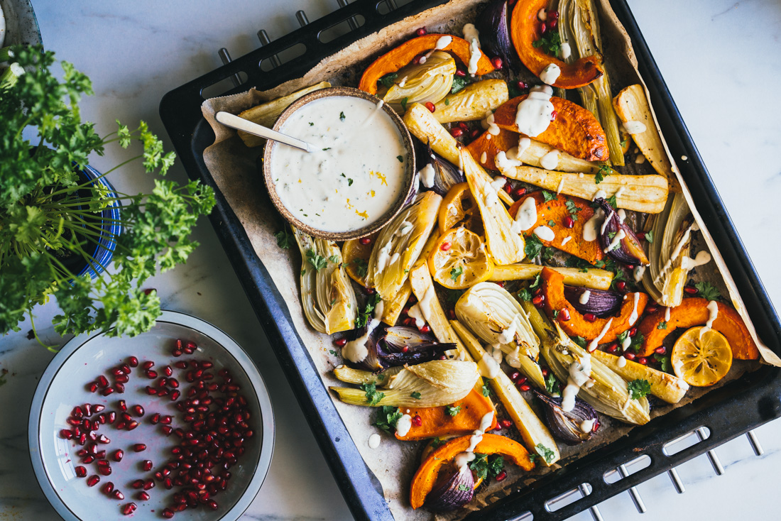 Roasted Vegetable Tray 10