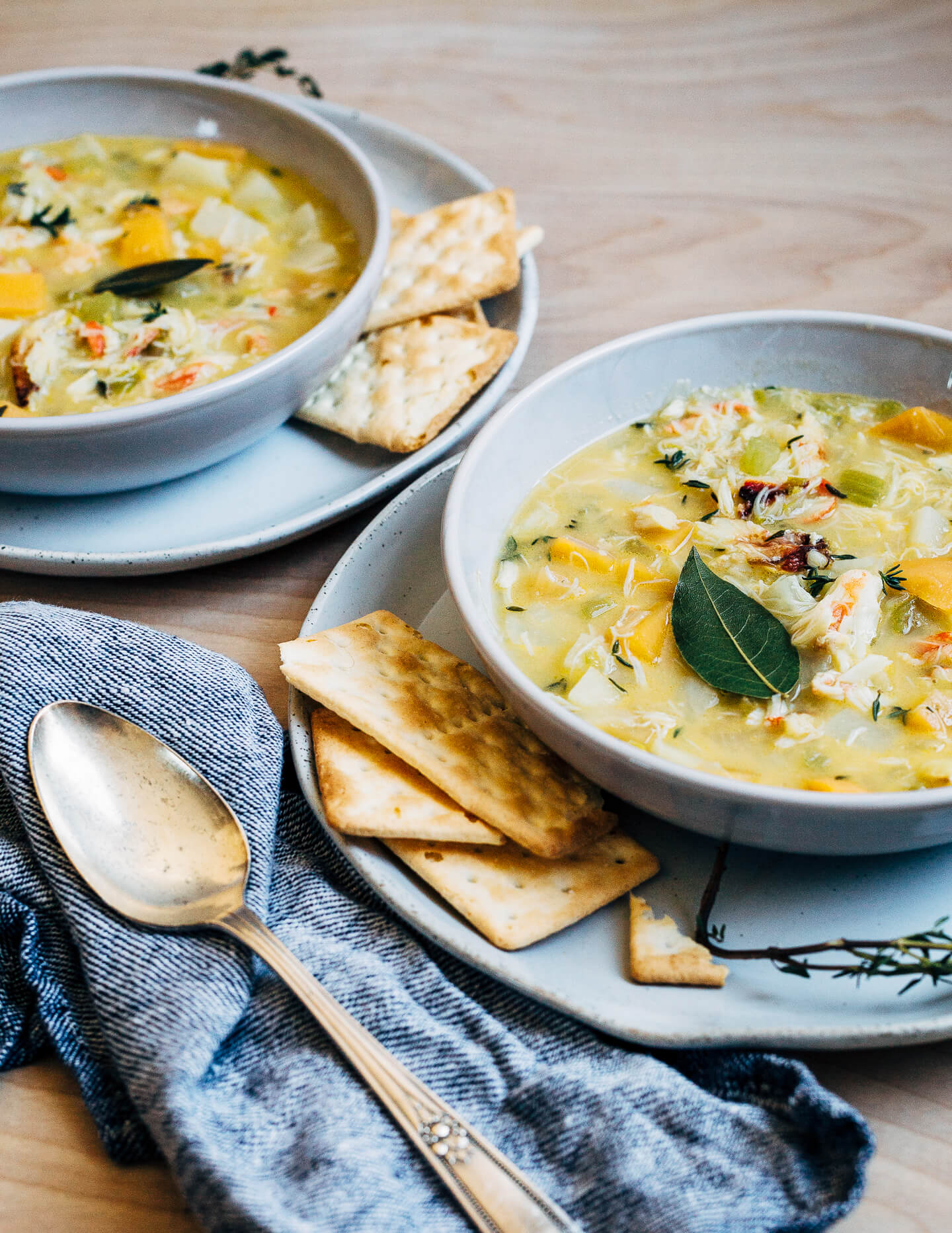 Winter Vegetable Crab Chowder30